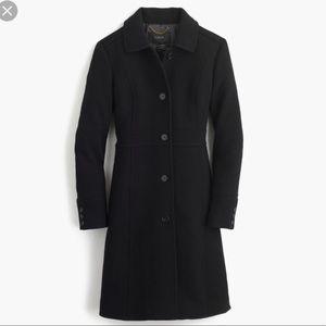 J. Crew Lady day coat, Italian double-cloth, NWT!